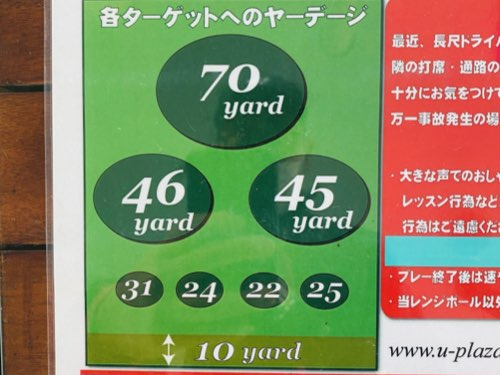 3つのグリーン
